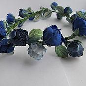 Украшения ручной работы. Ярмарка Мастеров - ручная работа Венок из бутонов роз. Handmade.