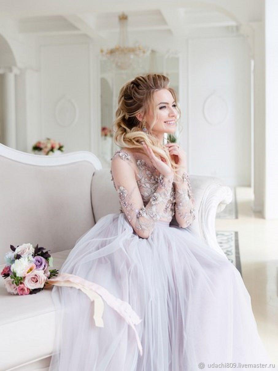 Дымчатое фатиновое платье, Платья, Волгоград, Фото №1