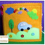 Куклы и игрушки ручной работы. Ярмарка Мастеров - ручная работа Книжка-малышка из фетра. Handmade.