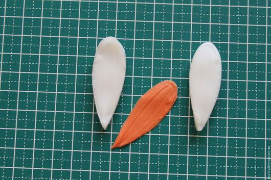 №1 Лепесток ромашки 4.5-1.5 см. 160 рублей