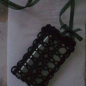 Сумки и аксессуары ручной работы. Ярмарка Мастеров - ручная работа гламурный чехол сумочка для телефона. Handmade.