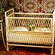 Плетеная детская кроватка (Юрий Фомин) 14700 руб.