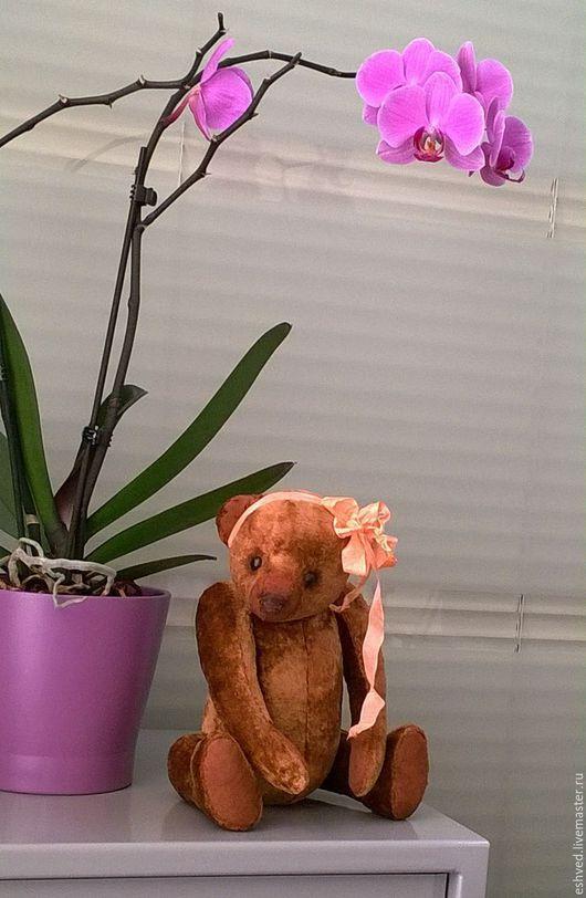 Мишки Тедди ручной работы. Ярмарка Мастеров - ручная работа. Купить Мишка из детства. Handmade. Коричневый, медведь ручной работы