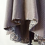 Одежда handmade. Livemaster - original item Sundress in brown plaid. Handmade.