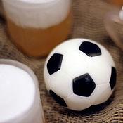 Мыло ручной работы. Ярмарка Мастеров - ручная работа Футбольный мяч. Handmade.