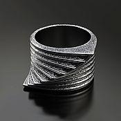 Украшения handmade. Livemaster - original item Ring: Illusion of dynamics. Handmade.
