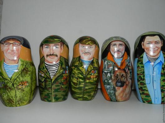 Портретные куклы ручной работы. Ярмарка Мастеров - ручная работа. Купить матрешки на заказ. Handmade. Оливковый, матрешки матрешки