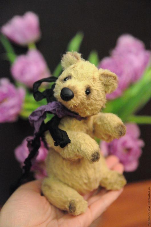 Мишки Тедди ручной работы. Ярмарка Мастеров - ручная работа. Купить Эсбен. Handmade. Бежевый, мишка ручной работы, опилки