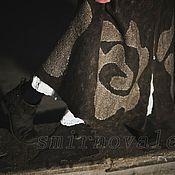Одежда ручной работы. Ярмарка Мастеров - ручная работа Юбка валяная Александра. Handmade.