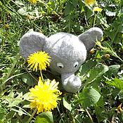 Куклы и игрушки ручной работы. Ярмарка Мастеров - ручная работа игрушка валянная слоник Слоня. Handmade.