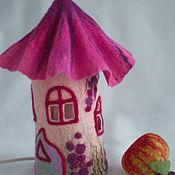 """Для дома и интерьера ручной работы. Ярмарка Мастеров - ручная работа Ночник """"Розовые грёзы"""". Handmade."""