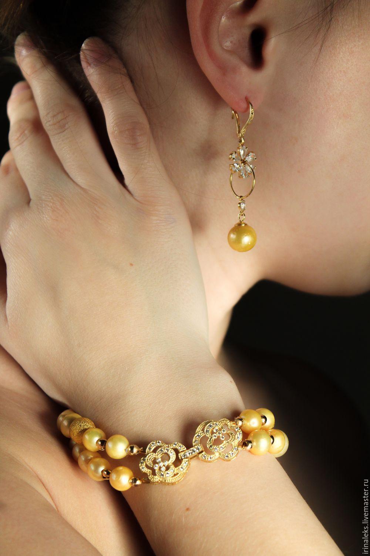 Earrings 'Golden dandelion!', Earrings, Nizhny Novgorod,  Фото №1