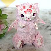 Мягкие игрушки ручной работы. Ярмарка Мастеров - ручная работа Мягкие игрушки: Дракончик розовый,кукла ручной работы. Handmade.