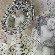 Для дома и интерьера ручной работы. Ярмарка Мастеров - ручная работа Бабушкино зеркальце. Handmade.