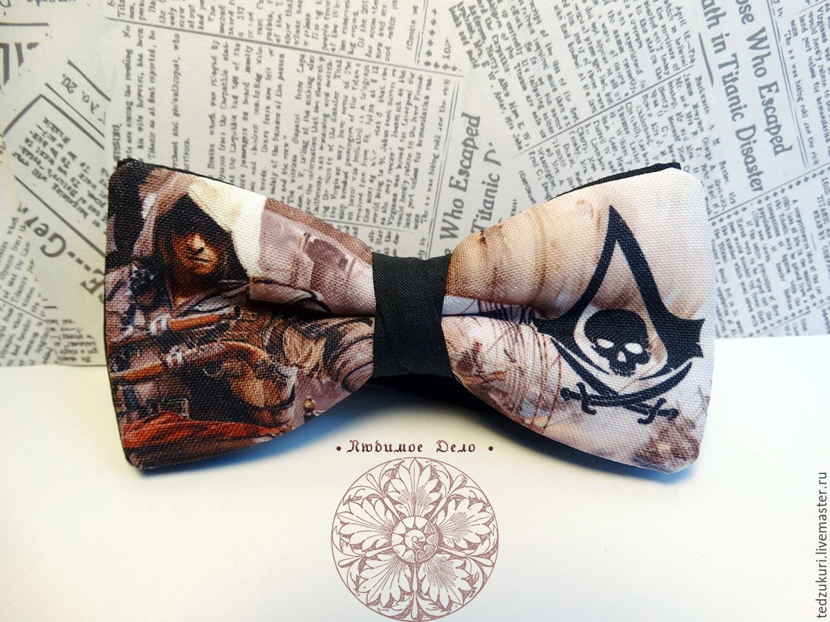 The bow-tie Assassin's Creed/ assassin's Creed/ video game/ action, Ties, Rostov-on-Don,  Фото №1