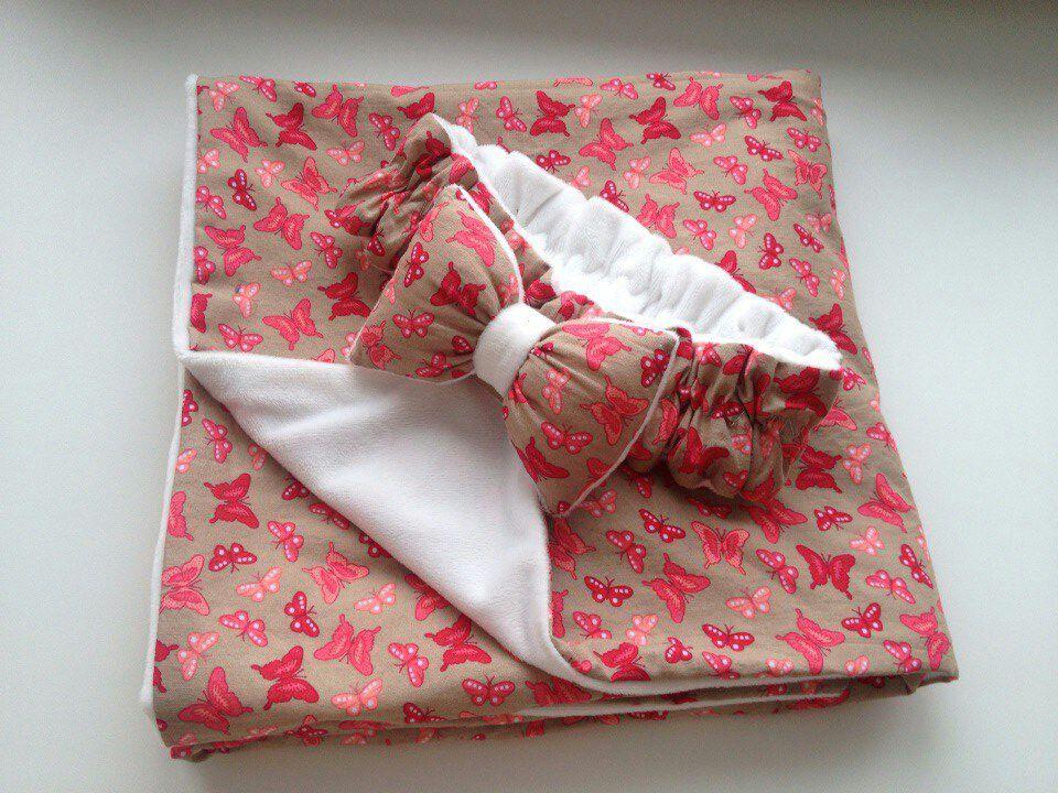 Одеяло новорожденной своими руками 254