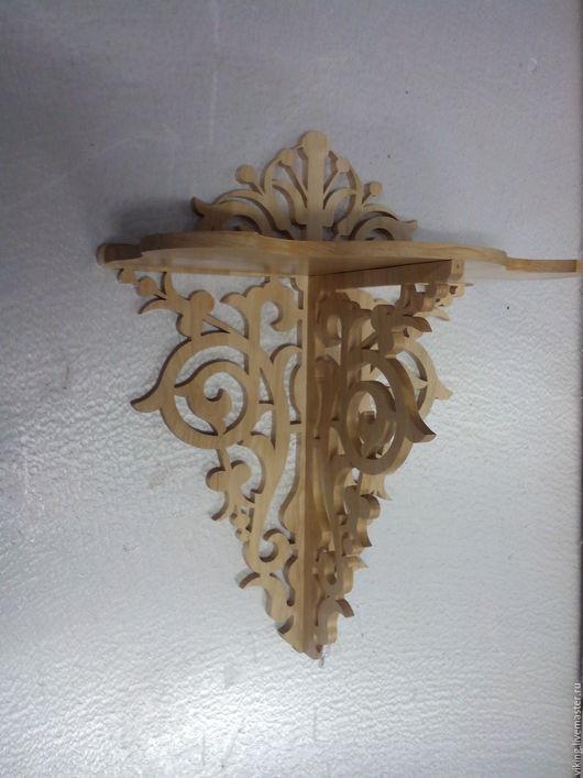 Мебель ручной работы. Ярмарка Мастеров - ручная работа. Купить Полочка  A-01. Handmade. Комбинированный, граб, деревянная полка