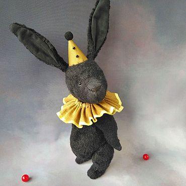 Куклы и игрушки ручной работы. Ярмарка Мастеров - ручная работа Игрушки: Зайчик тедди Luigi. Handmade.