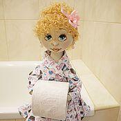 Николь, кукла-держатель туалетной бумаги