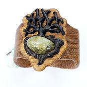Украшения handmade. Livemaster - original item Bracelet from the tree