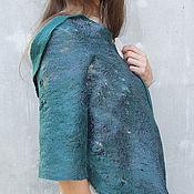 Аксессуары handmade. Livemaster - original item Shawl-shawl sea green. Handmade.
