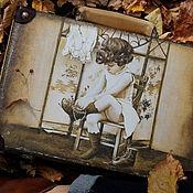 Сумки и аксессуары handmade. Livemaster - original item Retro suitcase. Handmade.