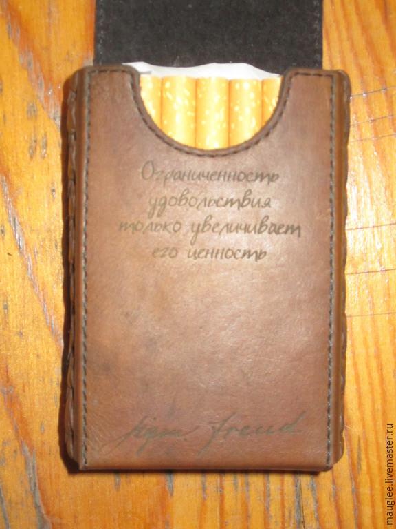 Портсигар-Сигаретница. Классическая пачка. Старик Фрейд