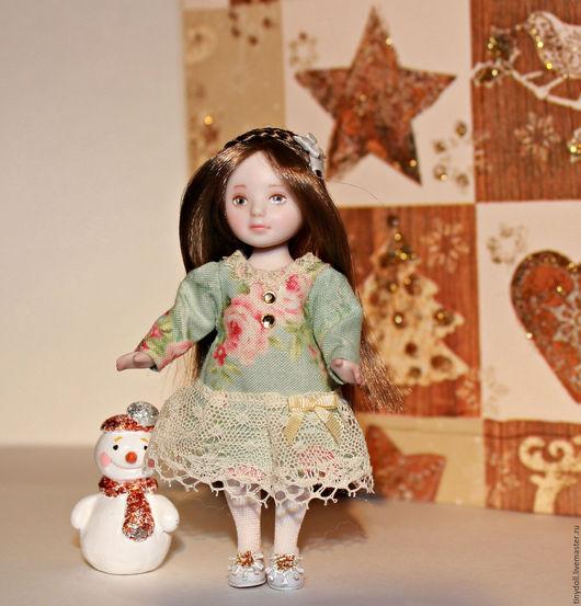Коллекционные куклы ручной работы. Ярмарка Мастеров - ручная работа. Купить фарфор 9.5  см. Handmade. Кукольный дом