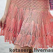 """Одежда ручной работы. Ярмарка Мастеров - ручная работа Коктейльное платье """"Коралл"""". Handmade."""