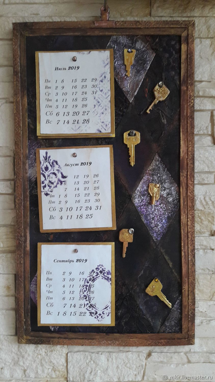 "Календарь ""Ключ от замка Синей Бороды"", Календари, Санкт-Петербург, Фото №1"