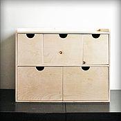 Для дома и интерьера ручной работы. Ярмарка Мастеров - ручная работа Мини-комод (индивидуальный заказ). Handmade.