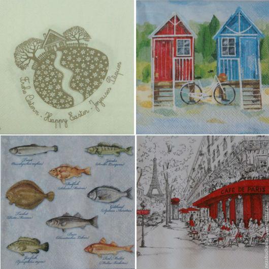 «Пасхальный домик» 103 «Пляжные домики» 77 «Рыбки» 76 «Cafe de Paris» 42