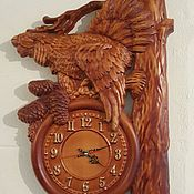 Для дома и интерьера handmade. Livemaster - original item Watch for the house Grouse. Handmade.