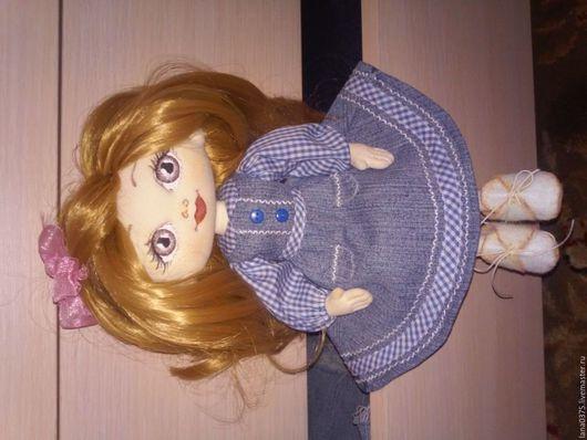 """Коллекционные куклы ручной работы. Ярмарка Мастеров - ручная работа. Купить Джессика """". Handmade. Синий, кукла ручной работы"""