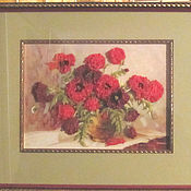 Картины и панно handmade. Livemaster - original item Painting set for embroidery ribbons and embroidery. Handmade.