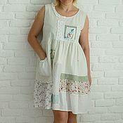 Одежда ручной работы. Ярмарка Мастеров - ручная работа Платье бохо. Handmade.