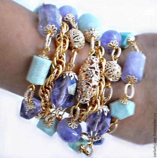 браслет из камней     браслет из натуральных     браслет купить     браслет с камнями     браслет с подвесками     широкий браслет     браслет яркий     браслет с аметистом