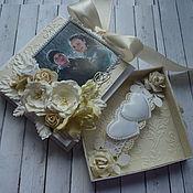 Подарочные конверты ручной работы. Ярмарка Мастеров - ручная работа Свадебная коробочка для денег с фото. Handmade.