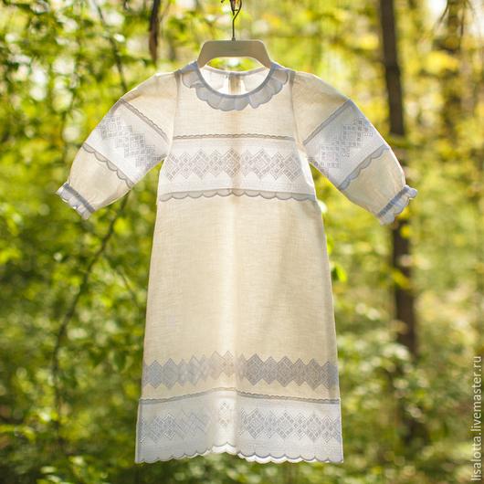 Крестильное платье Крестильное платье ручной работы Крестильное платье купить Крестильное платье заказать Таинство крещения Крестильное платье Елизавета