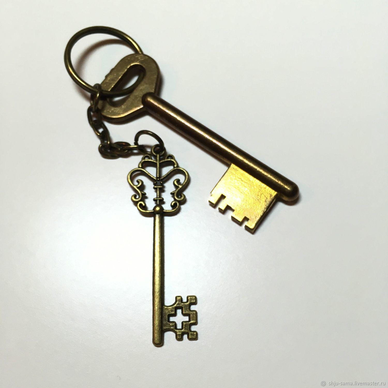Брелок для ключей Ключик, брелок для сумки