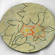 Посуда handmade. Livemaster - original item plate contours. Handmade.