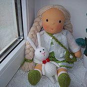 Куклы и игрушки ручной работы. Ярмарка Мастеров - ручная работа Весенняя девочка. Handmade.