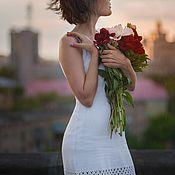Одежда ручной работы. Ярмарка Мастеров - ручная работа Платье в бельевом стиле. Handmade.