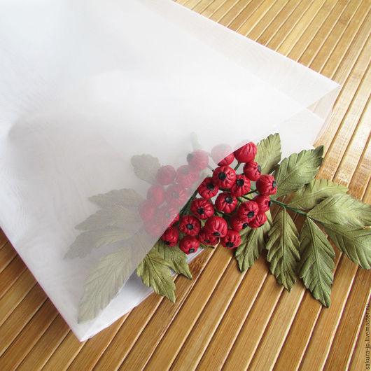 Органза. Японская ткань для цветов. САКУРА - материалы для цветоделия.