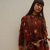 Одежда ручной работы. Ярмарка Мастеров - ручная работа Комплект юбка+блуза. Handmade.