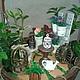 Интерьерные композиции ручной работы. Ярмарка Мастеров - ручная работа. Купить Мини-садик в стиле прованс. Handmade. Мини-сад