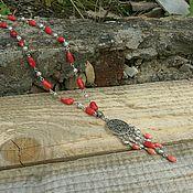 #46 Ожерелье с кораллами