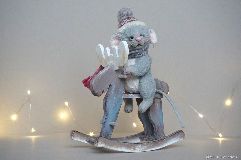 Мышонок Сёма и лось Север, Мишки Тедди, Краснодар,  Фото №1