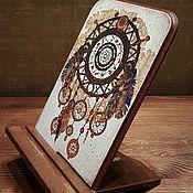 """Подставки ручной работы. Ярмарка Мастеров - ручная работа Подставка для планшета/телефона """"Ловец снов"""". Handmade."""