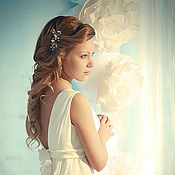 """Платья ручной работы. Ярмарка Мастеров - ручная работа Свадебное платье """"Симфони"""". Handmade."""